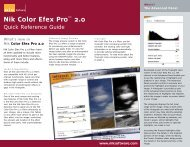 Nik Color Efex Pro™ 2.0 - Nik Software