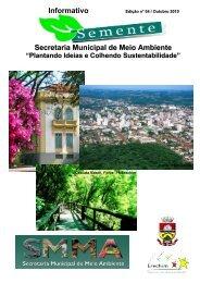 Informativo Secretaria Municipal de Meio Ambiente - Prefeitura ...