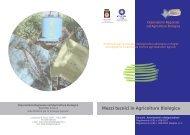 Mezzi tecnici in Agricoltura Biologica