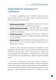 interventi tecnici di riqualificazione - Parco di Montevecchia e della ...