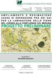 Relazione geologica. Pdf - VAS FVG Alto Livenza