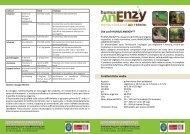 humus anenzy, ristrutturante dei terreni - Agribio Notizie