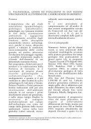 11. P. PAOLI, G. CELLAI CIUFFI, C. BINI, Palinologia, genesi ... - BibAr