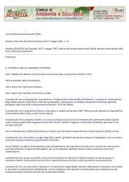 Codice di Ambiente e Sicurezza - Il Sole 24 Ore