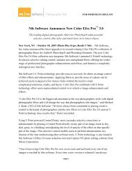 Nik Software Announces New Color Efex Pro 3.0