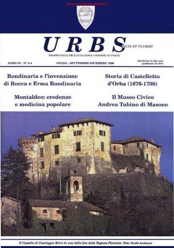 Rondinaria e l'invenzione di Rocca e Erma ... - archiviostorico.net