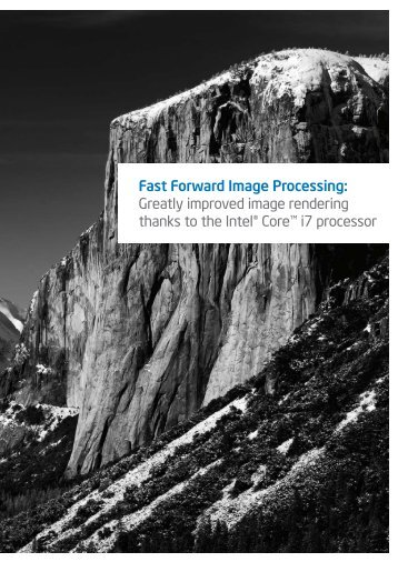 Greatly improved image rendering thanks to the Intel ... - Nik Software