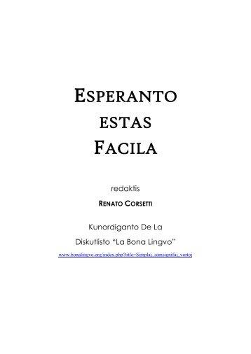 Renato Corsetti, Esperanto estas facila.pdf - Svisa Esperanto-Societo