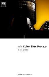 nik Color Efex Pro 2.0 - User Guide - v.2.005-106 - Nik Software