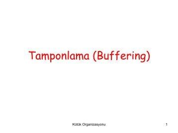 Tamponlama (Buffering)
