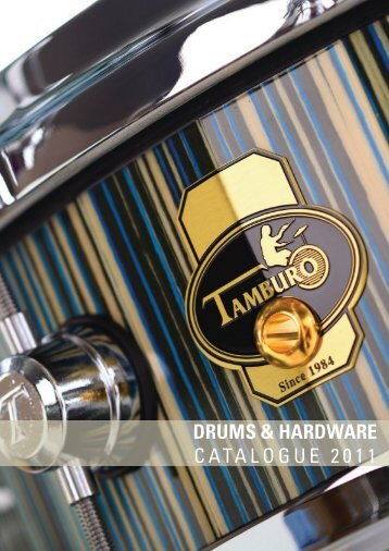 DRUMS & HARDWARE CATALOGUE 2011 - Proel