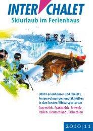 Skiurlaub im Ferienhaus - Ost-West Reisen & Touristik