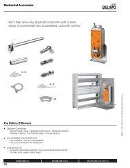 Mechanical Accessories for Damper Actuators - PexSupply.com