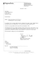 Contract Document - Virginia Tech