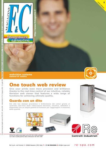 One touch web review - international media - flexogravure