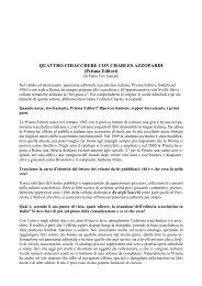 QUATTRO CHIACCHERE CON CHARLES AZZOPARDI (Prisma ...
