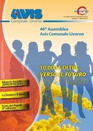 10.000 E OLTRE... VERSO IL FUTURO - AVIS Comunale Livorno