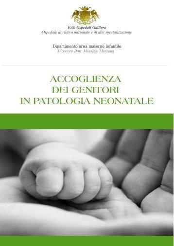 Accoglienza dei genitori in patologia neonatale - Ospedale Galliera