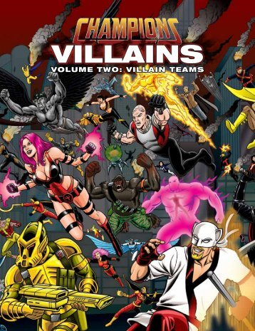 Hero System 6th - Champions Villains Volume 2 ... - LOVE YOU KEN.