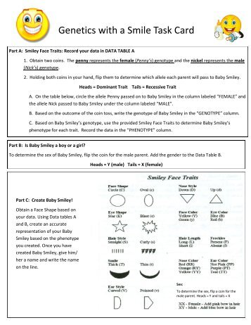 29 Genetics With A Smile Worksheet Answers - Worksheet ...