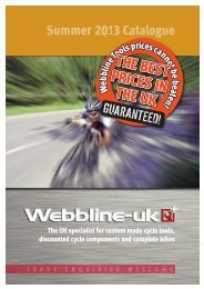 The UK specialist for custom made cycle tools ... - The Bike-Inn