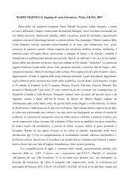 MARIO MARTELLI, Zapping di varia letteratura ... - Unitus DSpace