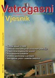Šumski požari u 2009. • Tehničke intervencije na cestovnom ...