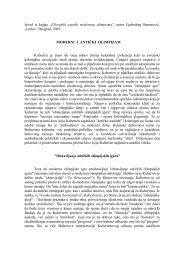 """Izvod iz knjige """" Filozofski aspekti modernog olimpizma ... - Ponude.biz"""