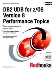 DB2 UDB for z/OS Version 8 Performance Topics - IBM Redbooks