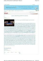 Page 1 of 2 Taoarte: debutta stasera in mondovisione