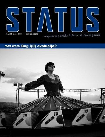 Kakvu Bosnu i Hercegovinu - Status