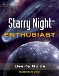 Starry Night Pro User's Guide