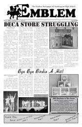 DECA StorE Struggling - Southington Public Schools