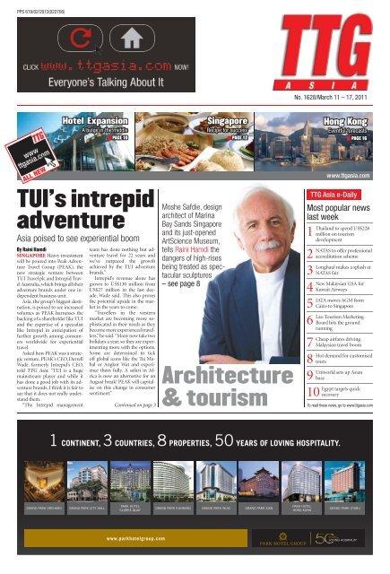 TUI's intrepid adventure - TTG Asia