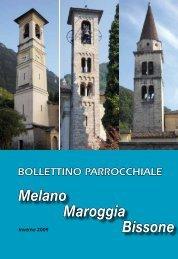 Bollettino parrocchiale Inverno 2009 - Parrocchia di San Carpoforo ...
