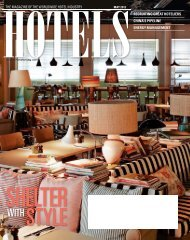 the magazine of the worldwide hotel industry recruiting great ...