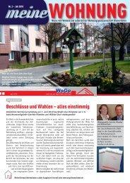 Ausgabe 2010 Juli - Wohnungsgenossenschaft Bremerhaven eG