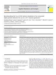 Benchmarking the Geant4 full system simulation of an associated ...