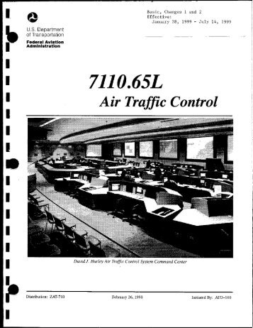 7110.65L with CHG 2 Air Traffic Control (01-28-1999 to 07-14 ... - FAA