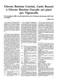 Giovan Battista Contini, Carlo Buratti e Giovan Battista Gazzale nei ...