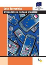 Unia Europejska – przewodnik po źródłach informacji - Centrum ...