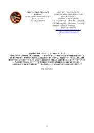 Bando Misura 313 c)3 Materiale informativo su supporto informatico