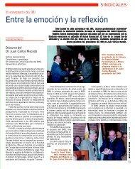 Entre la emoción y la reflexión - Sindicato Médico del Uruguay