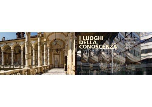I luoghi della conoscenza 2002-2012 - Università degli Studi di Torino