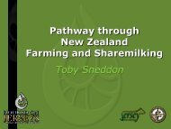 Toby Sneddon - Pathway through New Zealand Farming and Share ...