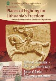 the defensive war of lithuania - Generolo Jono Žemaičio Lietuvos ...