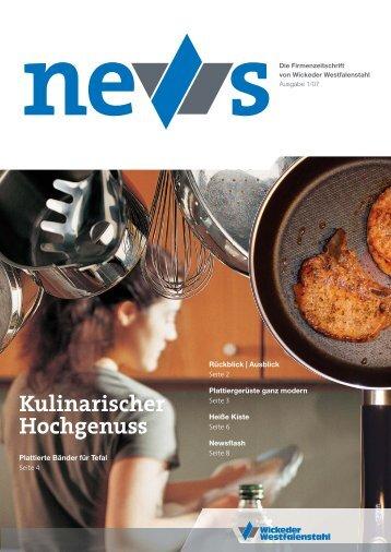 Ausgabe April 2007 - Wickeder Westfalenstahl GmbH