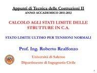 SLU_Tensioni Normali - Università degli Studi di Salerno