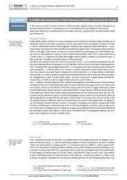 1 Il conflitto delle interpretazioni. Il Parini riformista di Petronio e ...