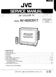 service manual az1-a(5-2) chassis